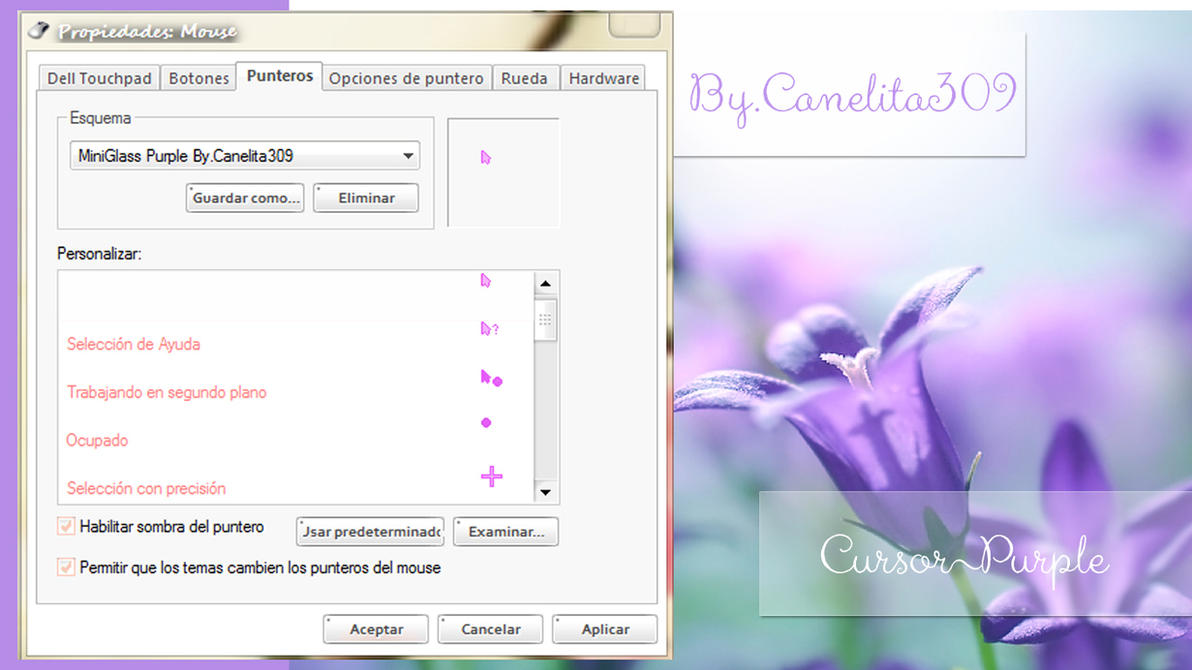 Cursor MiniGlass Purple by SriitaDeWatt