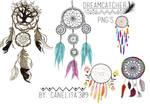 PNG'S Dreamcatcher By Canelita309 II