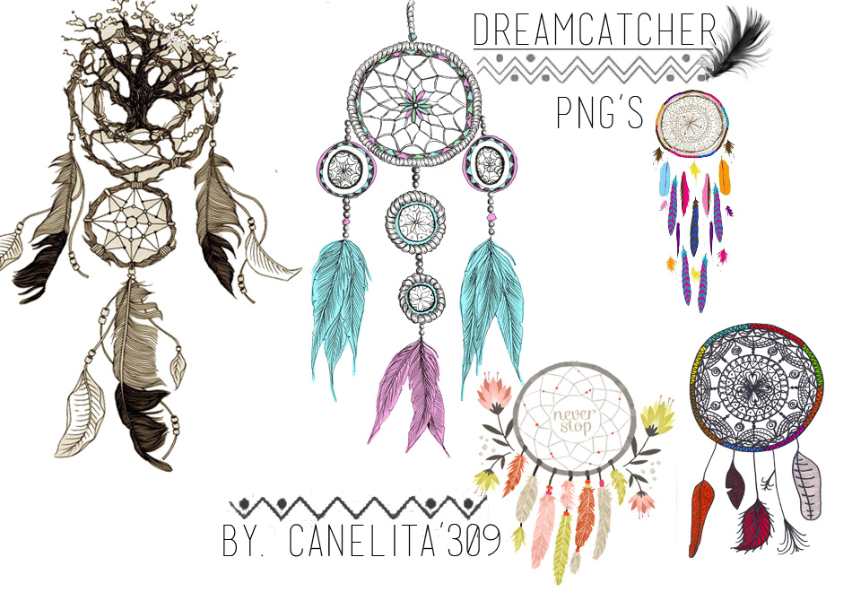PNG'S Dreamcatcher By Canelita309 II by SriitaDeWatt