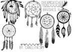 Brushes Dreamcatcher II By Canelita309