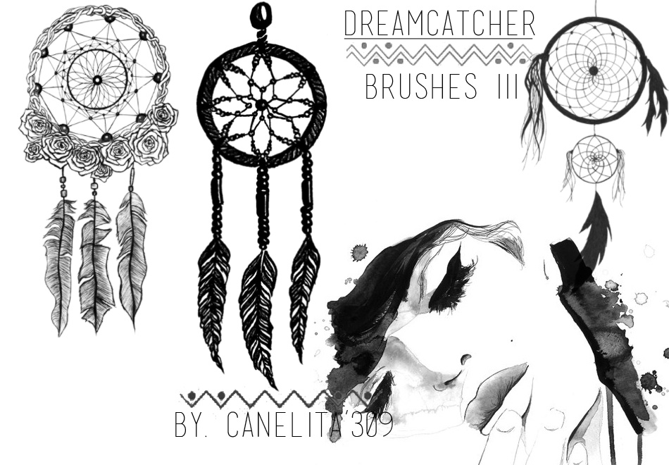Brushes Dreamcatcher III By Canelita309 by SriitaDeWatt