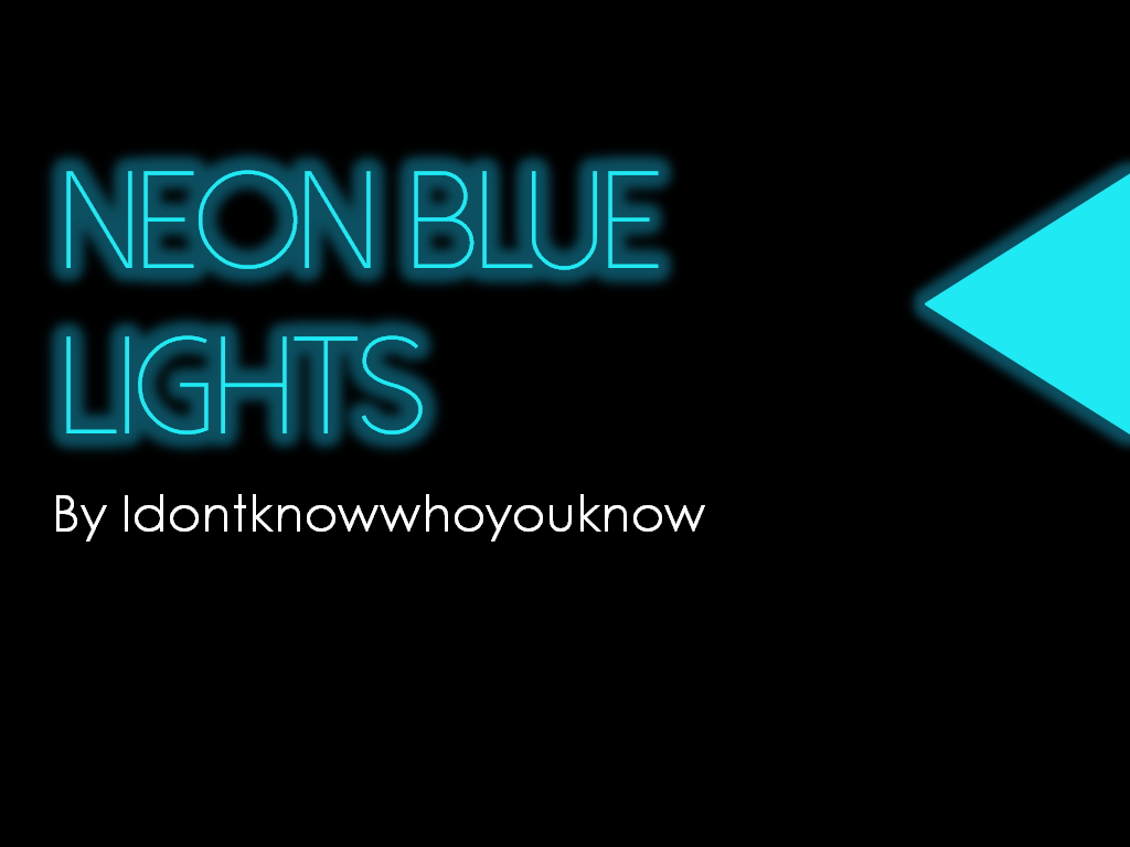 Neon blue lights powerpoint template by idontknowwhoyouknow on neon blue lights powerpoint template by idontknowwhoyouknow toneelgroepblik Gallery