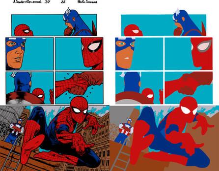 A Spider Man Ann.37 Pg.21 by Paulo Siqueira - Flat