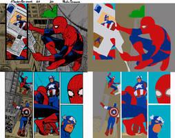 A Spider Man Ann.37 Pg.20 by Paulo Siqueira - Flat by Hellica-Ordo