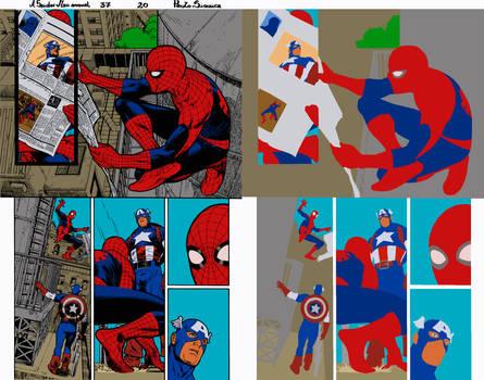 A Spider Man Ann.37 Pg.20 by Paulo Siqueira - Flat