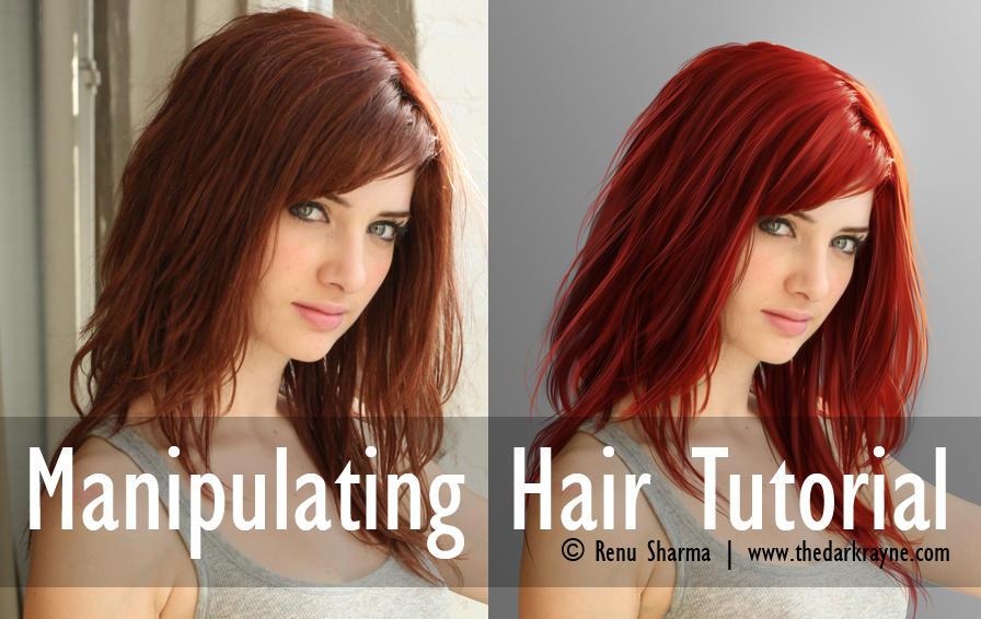 Manipulating Hair by TheDarkRayne