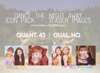 TWICE - Dance the Night Away ICON PACK by minawastaken