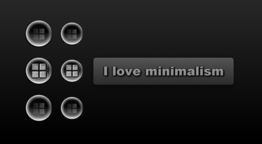 I love minimalism_Bt by tchiro