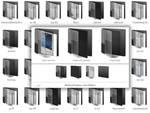 Black with glass - Live Folders.