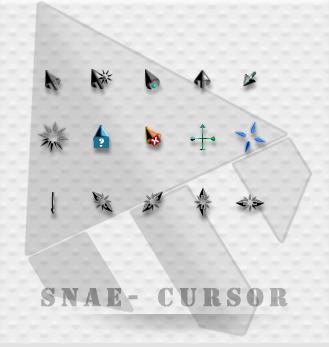 Snae - a black cursor. by tchiro