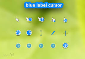 Blue Label- Cursor by tchiro