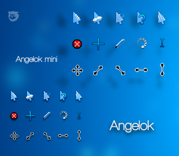 Angelok-cursors by tchiro