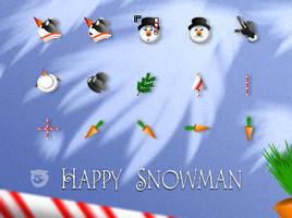 Happy.Snowman