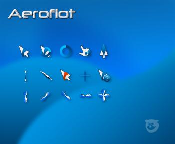 Aeroflot - cursor. by tchiro
