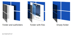 Window - icons for live folder