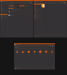 Orange - system icons