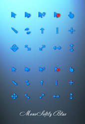 MonoSoftly Blue by tchiro