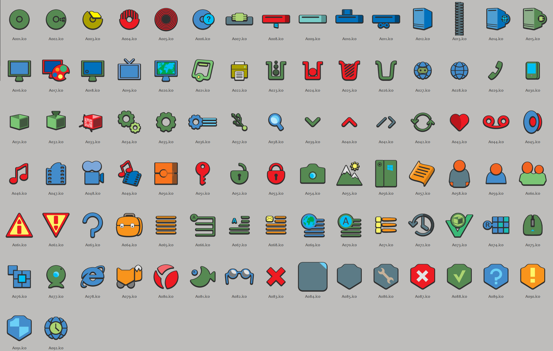 Byrlow Icon Pack