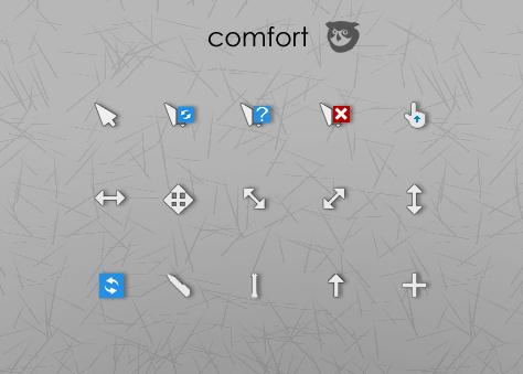 Comfort cursor pack