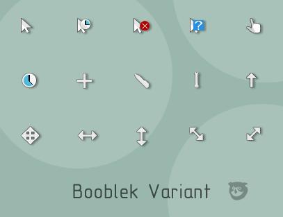 Booblek Variant cursor pack
