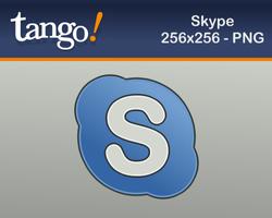 Skype Icon at tango style by martinzsj