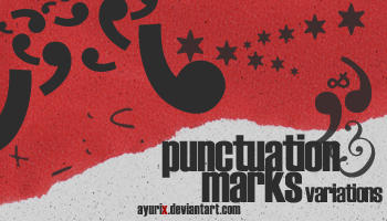 punctuation marks variations by ayurix