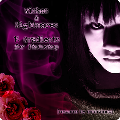 Wishes n Nightmares Gradients by OmaRxiano