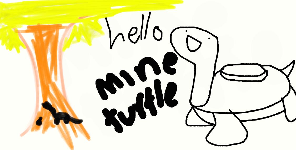 Mine turtle explosion - photo#48