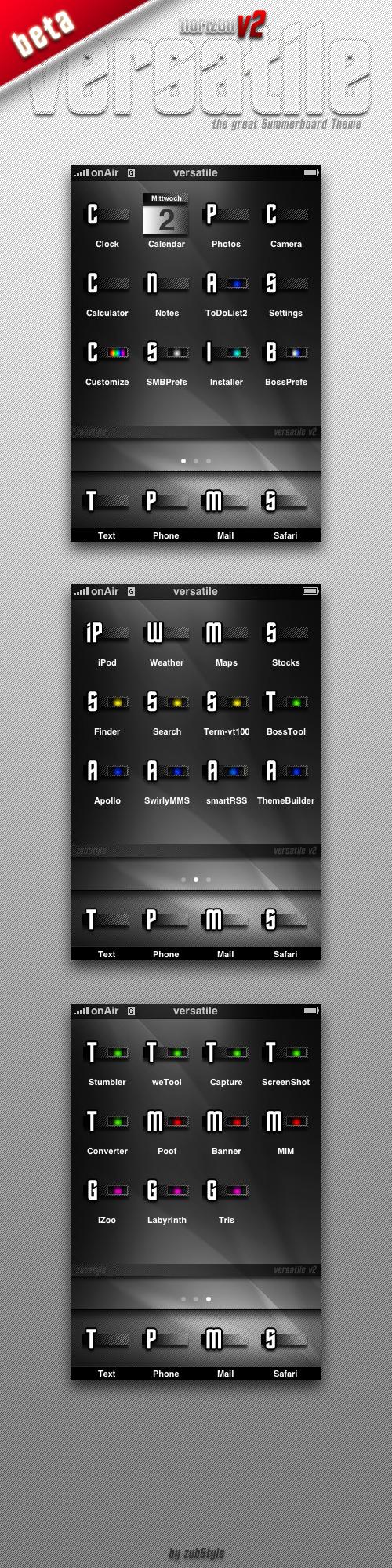 beta: -theme- versatile v2 by zubstyle