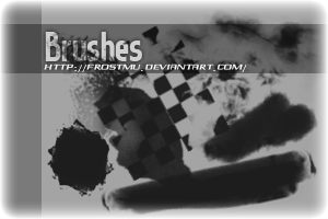 brushes01 by FrostMU