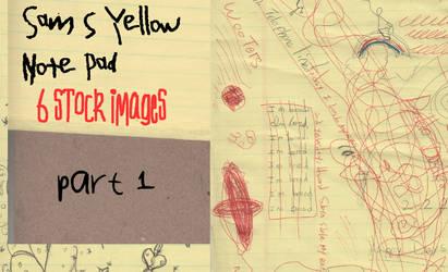 Sam's Yellow Note Pad Part 1