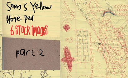 Sam's Yellow Note Pad Part 2