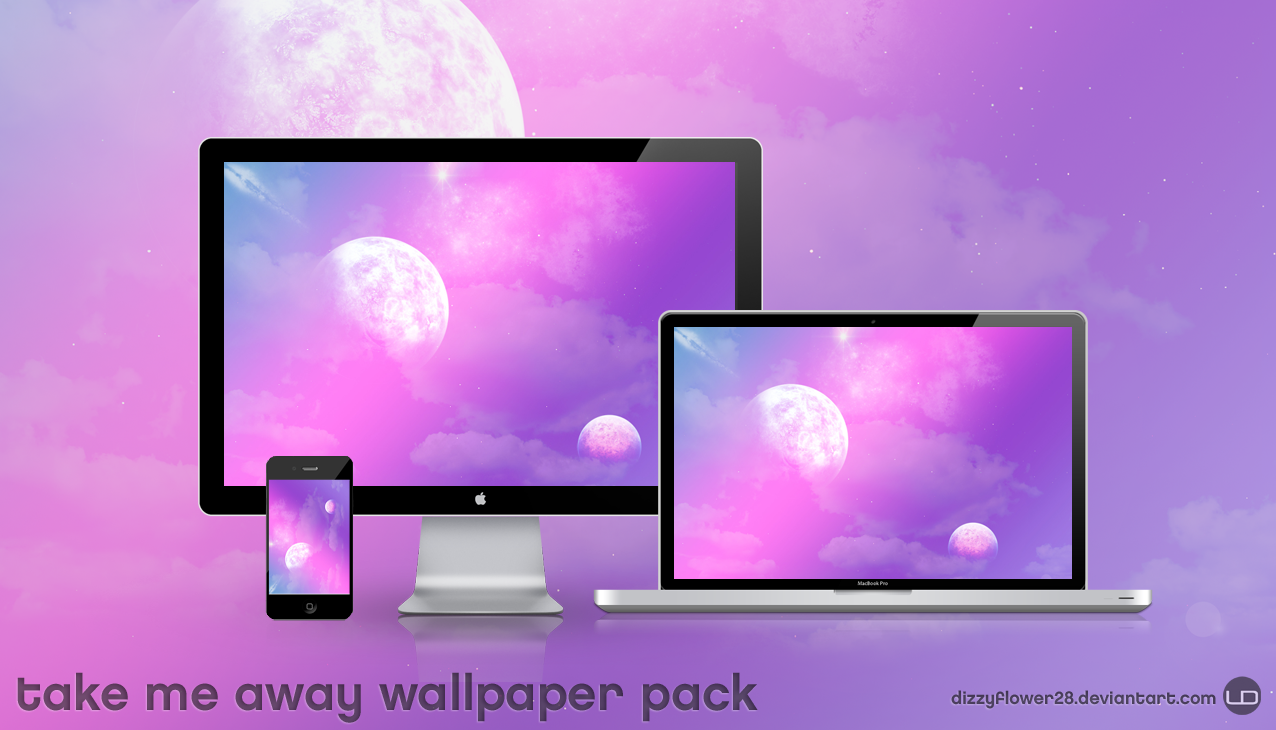Take Me Away Wallpaper Pack by dizzyflower28