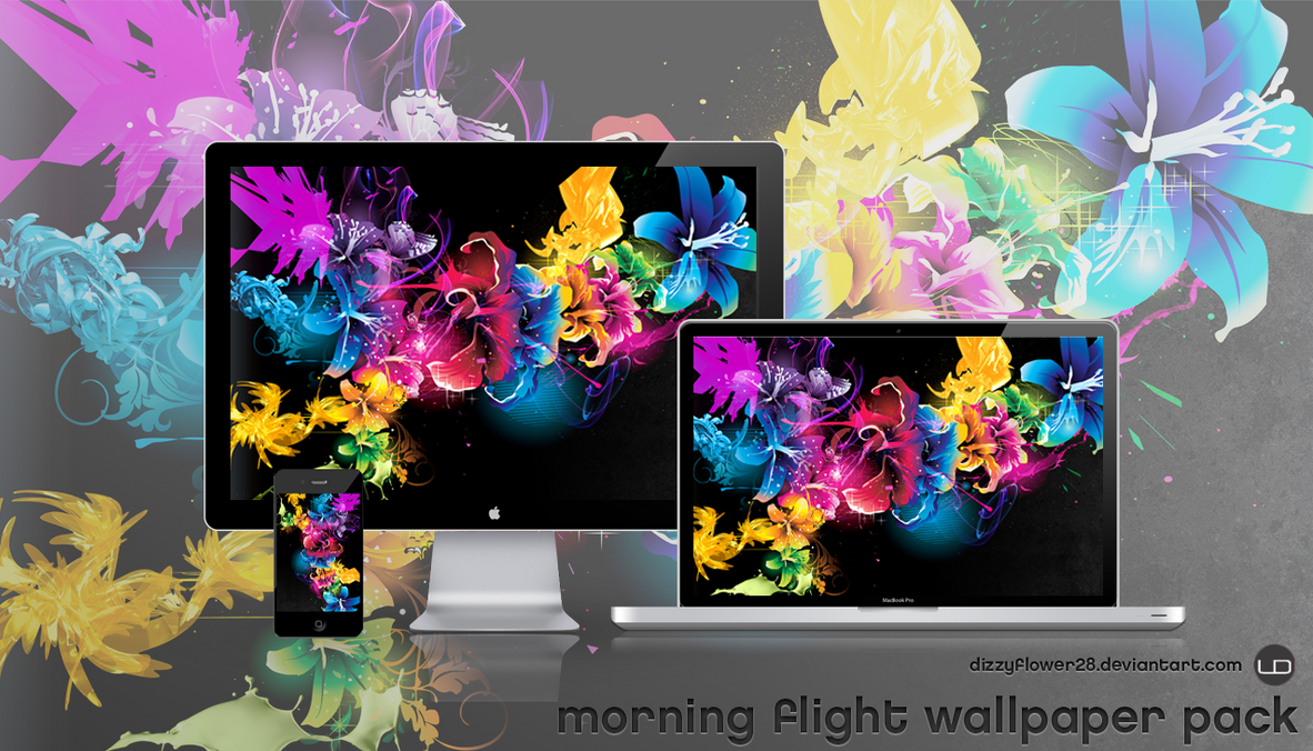 Morning Flight Wallpaper Pack by dizzyflower28