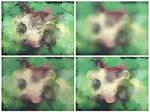 Greenish Abstract textures