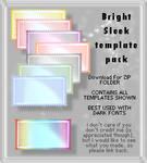 Bright Sleek - Template Pack