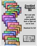 Crackled Stamp Templates
