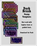 DryBrush Stamp Templates