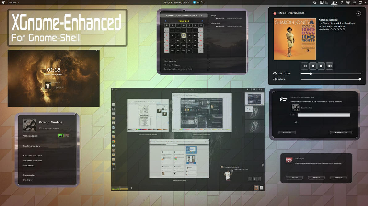 XGnome Enhanced 3.12 by xterminador