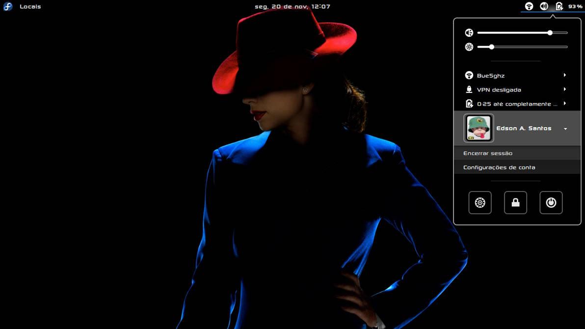 XGnome-Enhanced-Fedora Test 1 by xterminador