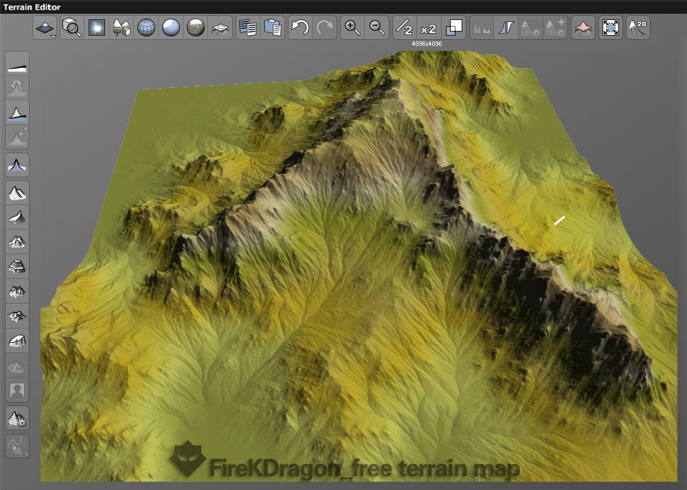 free]Snow mountain terrain map by FireKDragon on DeviantArt