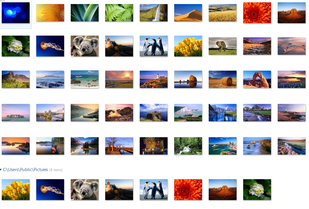 Windows 7 Build 7048 Wallpaper by ambidav