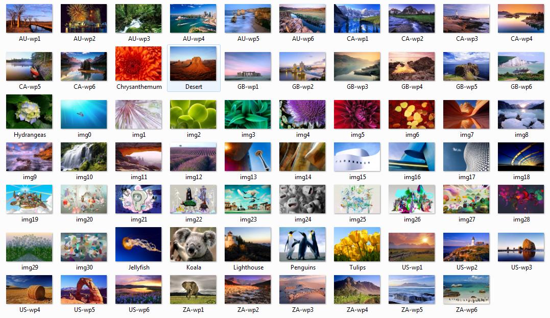 Windows 7 Build 7057 Wallpaper by ambidav