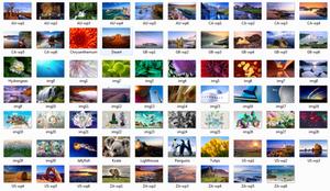Windows 7 Build 7057 Wallpaper