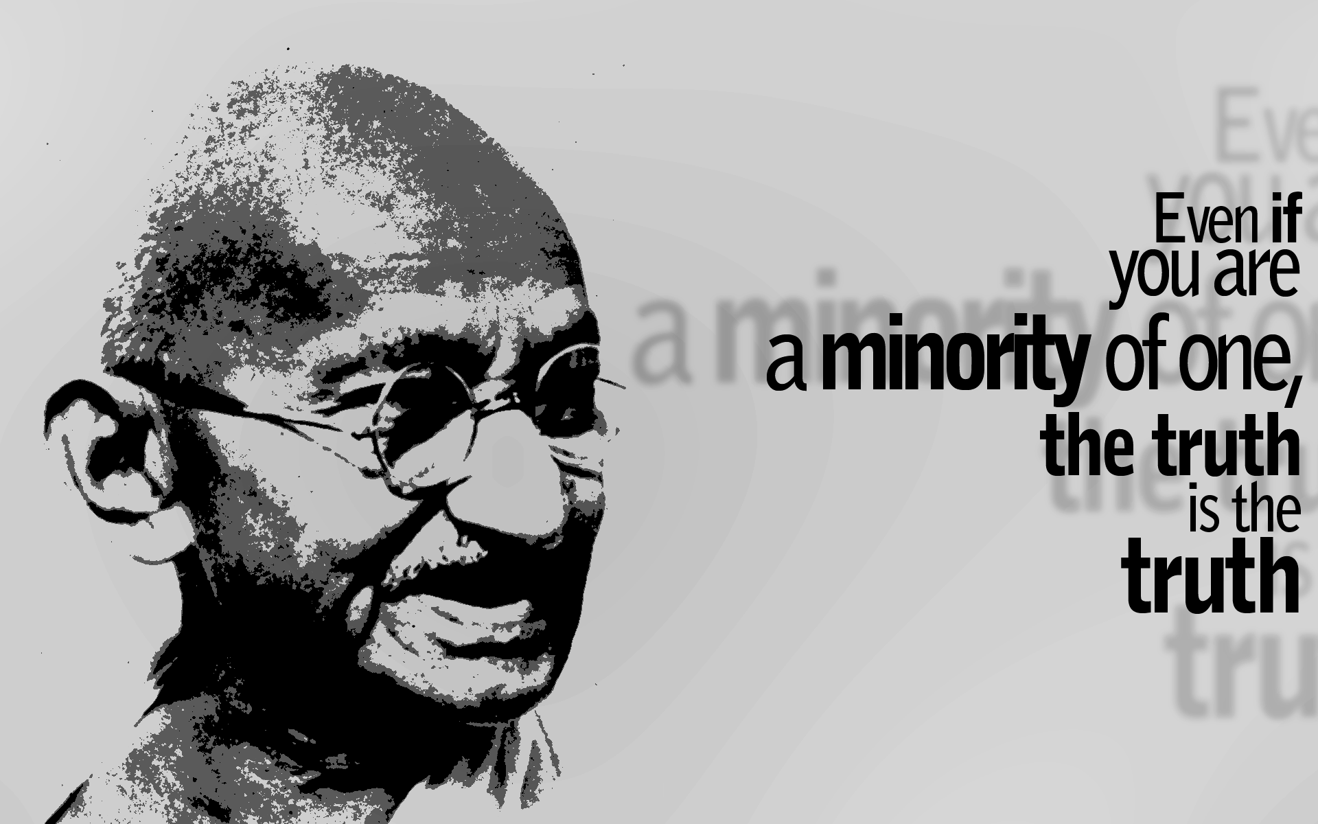 33. Mahatma Gandhi by sfegraphics