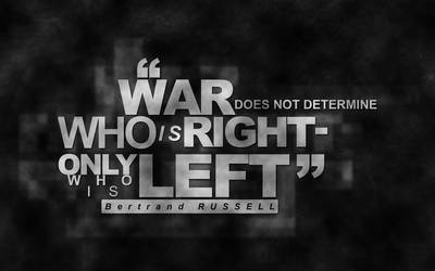 36. Bertrand Russell by sfegraphics