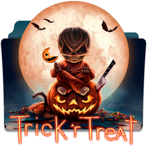 Trick 'r Treat Folder Icon (Windows and Mac) by wanbjb