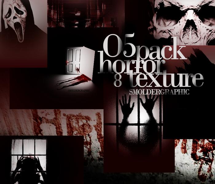 textures pack #O5 - 'horror' by danielsmolderwesley