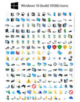 W10 10586 Icons by Undre4m