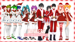 [TDA Yandere Simulator] Christmas Pack [+DL]